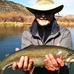 Great Rainbow caught at Soaring Eagle Lodge