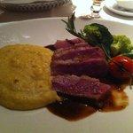 Excelentes pratos no restaurante do hotel