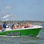 New USCG 12 Passenger Parasail Boat..