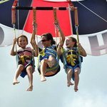 Flying with the kids..:))