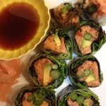 Spicy Tuna Summer Roll!