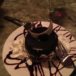 The chocolate cake -don't pass it up!