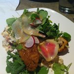 Monk fish and lobster aioli