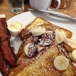 Banana and pecan french toast