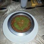 Könefe im Rstaurant  Vaha