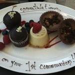 Delicious Complimentary Desserts!