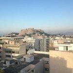 vue de la terrasse au 7eme étage