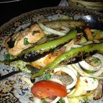 grilled fish with cous cous