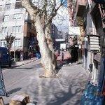 торговая улица около отеляю ковровый базар