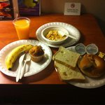I liked the continental breakfast.