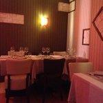 une partie du restaurant, au 1er étage