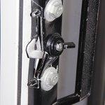 Broken balcony door lock
