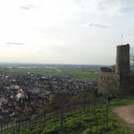 View from Strahlenburg