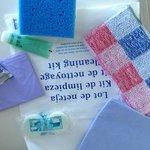 Amable Kit de limpieza de vajilla y lavadora =)
