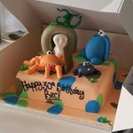 Trap Door birthday cake!