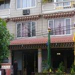 Front of Hotel Tibet, Lazimpat