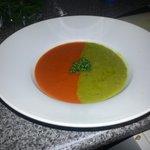 duet of soup