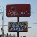 Applebee's Roadsign.