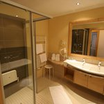 View of bathroom and shower