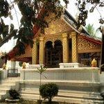 Temple bouddhiste à coté de la Villa