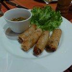 Les nems du restaurant de la villa maydou...!