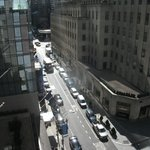 view from sister hotel(club quaters) looking up to 5th ave
