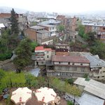 day view from room on almost entire Tbilisi