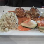 Crab Cakes at Oncore