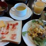 Breakfast at Hotel Solvita