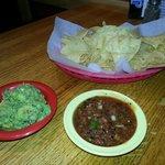 Chips, Salsa, Guacomole