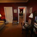 Sitting Room in Burgundy Suite