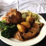 lamb Sunday Roast I challenge you to find a better Sunday Roast in Southsea