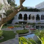 Taj Lake Palace Patio intérieur