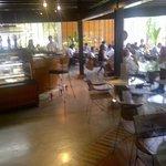 Interior of Kuppa café
