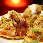 Sev Puri - a famous Bombay street food
