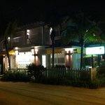 The Coconut Inn at night