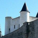 le château de Noirmoutier juste en face.