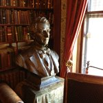 Seward bust in library