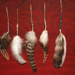 Chicken Feather Crafts