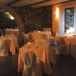 il locale ristorativo in pietra