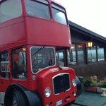 L'autobus London Style all'ingresso
