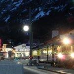 Noche en Grindelwald