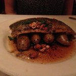 trout with hazelnuts and brown butter