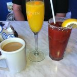 Coffee, Mimosa & Bloody Mary