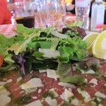 The carpaccio plate