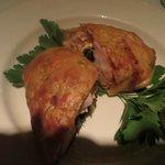 Entree:  Stuffed Chicken Breast...tender, tender, tender!!