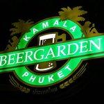 The Kamala Beer Garden Sign