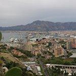 Veduta dalla strada su Palermo