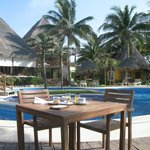 Zona piscina/Desayuno