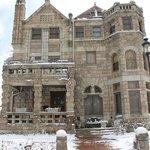 Denver in the snow